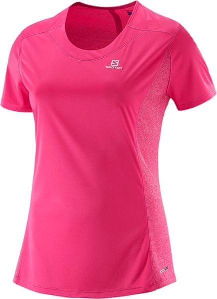Salomon Agile SS Tee W Hot Pink L