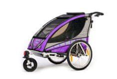 Qeridoo przyczepka rowerowa Sportrex 1 model 2016