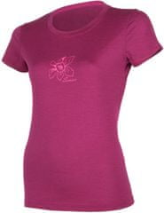 Sensor koszulka termoaktywna z krótkim rękawem Merino Wool Active PT Orchidea W