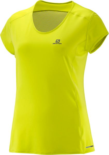 Salomon Comet Plus SS Tee W Yuzu Yellow XS