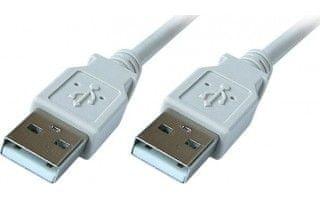 PremiumCord USB 2.0 A-A összekötő kábel, M/M