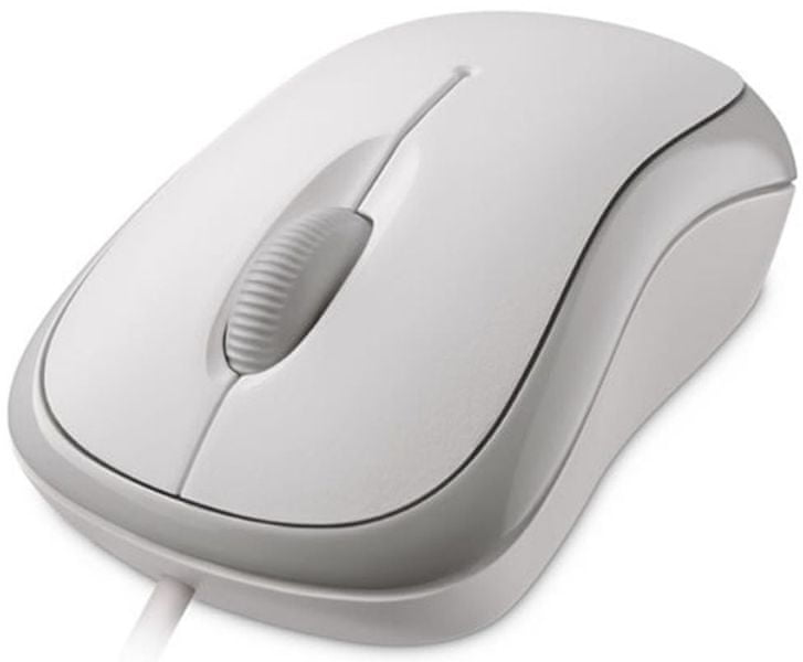 Microsoft Basic Optical Mouse bílá (P58-00060)