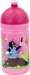 BINO Butelka do picia Krecik, różowa