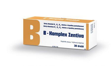 Zentiva B-komplex zentiva drg 1x30ks