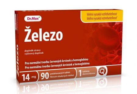 Dr.Max Železo 14 mg 90 tbl