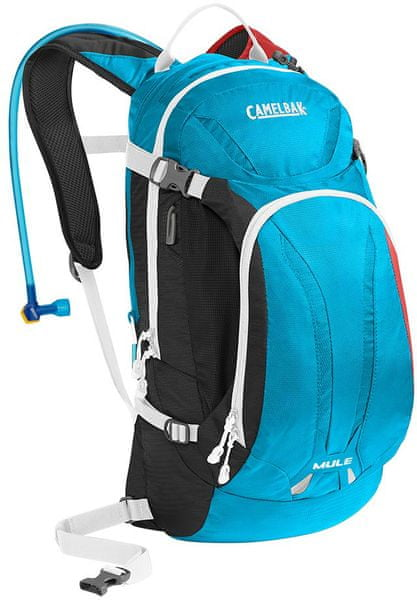 Camelbak Mule 9L Charcoal/Atomic Blue/Barbados Cherry