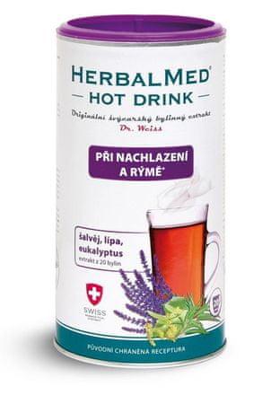 HERBALMED hot drink nachladnutie a nadcha-dr.weiss (mat.dúška, lipa, eukalyptus) 1x180 g