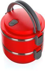 Banquet - Posoda za prenašanje hrane plastična CULINARIA Red 1,4 l, 2-delna