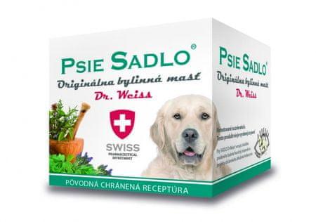 Psie sadlo - dr.weiss originálna bylinná masť 1x75 ml