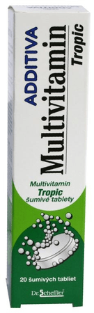 Additiva multivitamín tropic tbl eff 1x20 ks