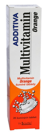 Additiva multivitamín orange tbl eff 1x20 ks