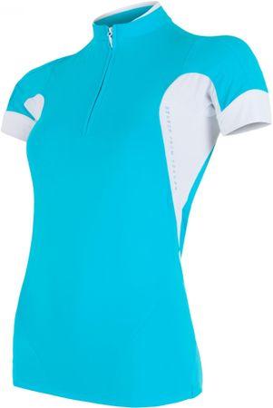 Sensor biciklistička majica Dres Profi, ženska, plava, S