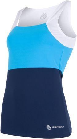 Sensor majica Infinity, modra/bela, L