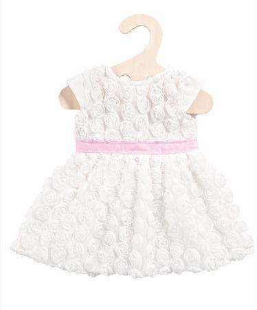 Heless Šaty Dream biele s mašľou