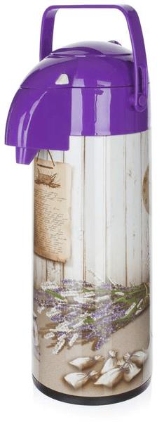 Banquet Termoska s pumpou Culinaria Lavender 1,9 l