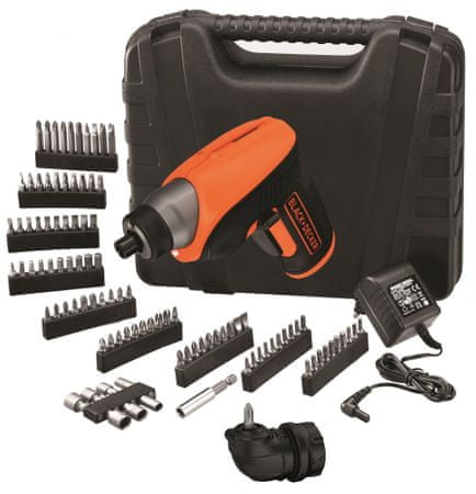 Black+Decker wkrętarka akumulatorowa CS3652LKA