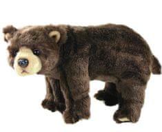 Rappa Plyšový medveď stojaci, 40 cm