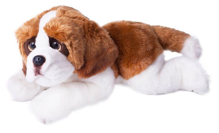 Rappa Plyšový pes bernardýn ležící, 33 cm