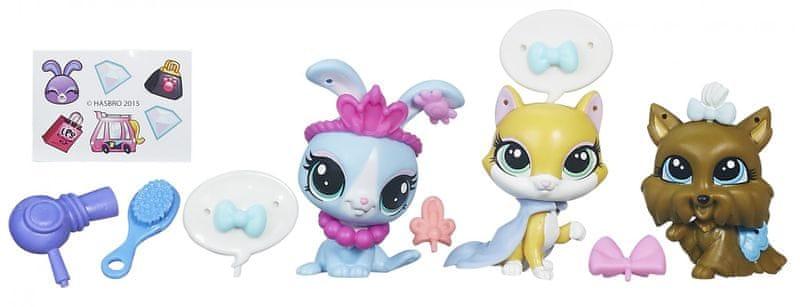 Littlest Pet Shop Zvířátka s doplňky - Shopping fun