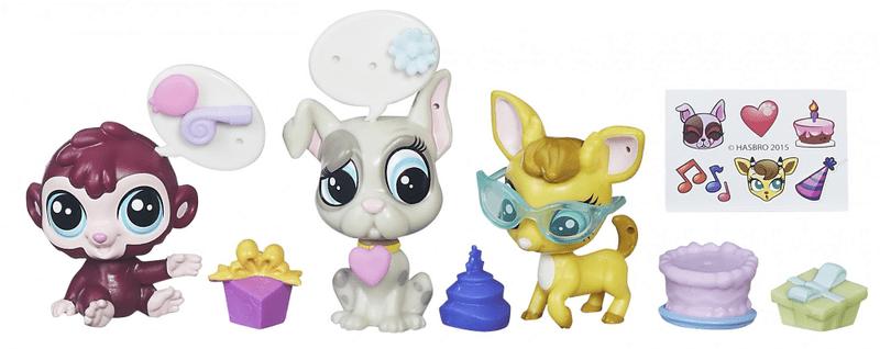 Littlest Pet Shop Zvířátko s doplňkem - Park party