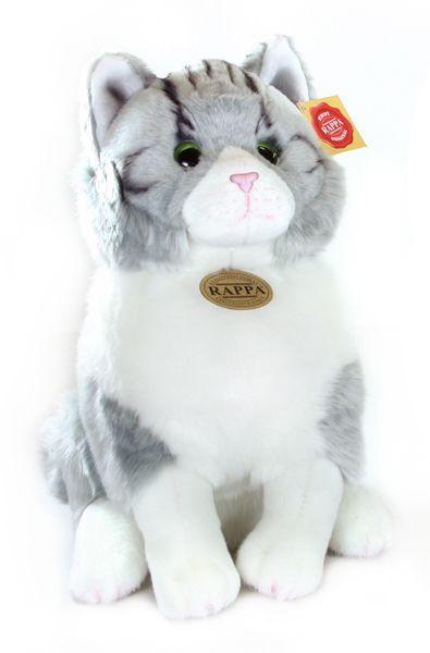 Rappa Plyšová kočka sedící, 31 cm