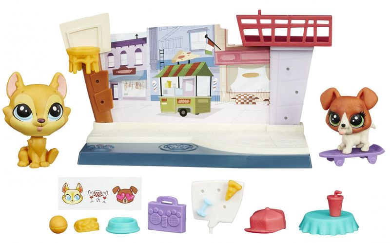 Littlest Pet Shop Hrací set - Cafe