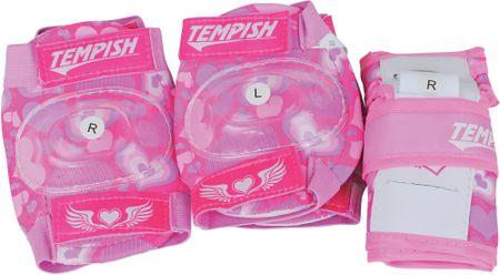 Tempish ščitniki Meex Pink, XS