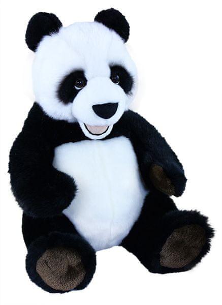 Rappa Plyšová panda sedící, 33 cm