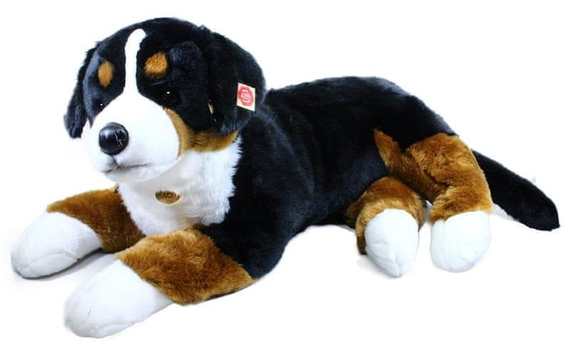 Rappa Plyšový pes salašnický ležící, 89 cm