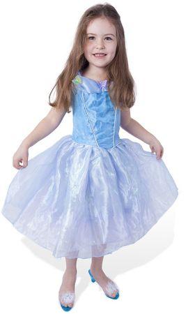 Rappa kostum Princesa z metuljčki, S