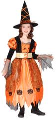 Rappa Kostým čarodějnice halloweenská