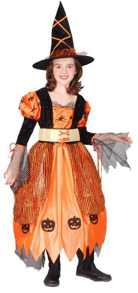 Rappa Kostým čarodějnice halloweenská S