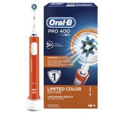 Oral-B Pro 400 Elektromos fogkefe, Narancssárga