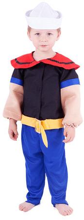 Rappa kostum mornar Pepe, XS