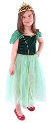 Rappa kostum princesa Anna, zelen