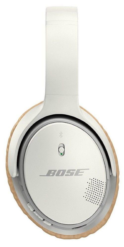 Bose SoundLink around-ear wireless II bezdrátová sluchátka, bílá - zánovní
