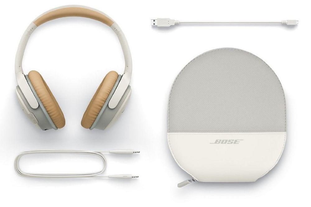 Bose SoundLink around-ear wireless II bezdrátová sluchátka, bílá