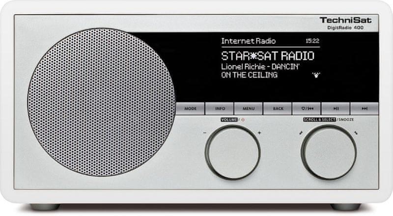 Technisat DigitRadio 400, bílá