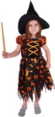 Rappa Kostým čarodejnice s klobúkom