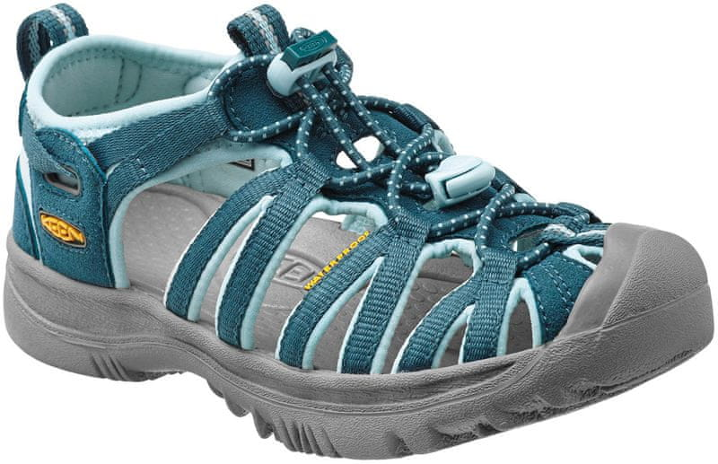 KEEN Whisper Jr Indian Teal/Corydalis Blue US 2 (34 EU)