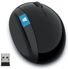 Microsoft Sculpt Ergonomic Mouse čierna
