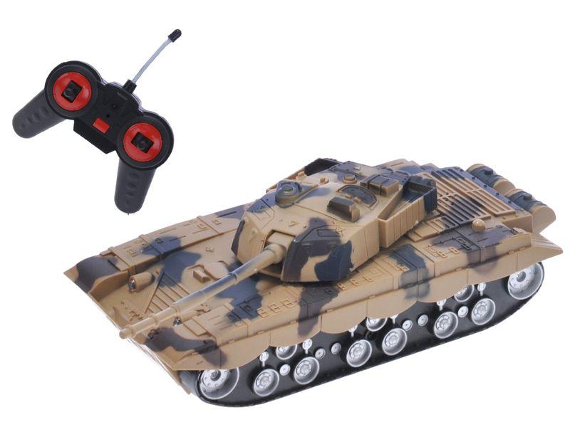 Mikro hračky RC Tank 22cm 27MHz
