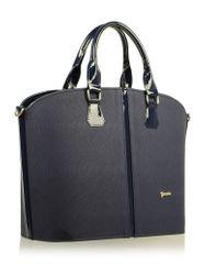 GROSSO BAG torebka damska ciemnoniebieski