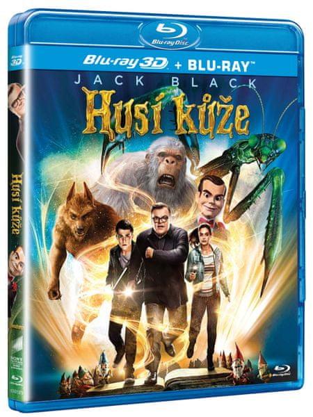 Husí kůže 3D + 2D - Blu-ray