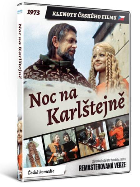 Noc na Karlštejně - edice KLENOTY ČESKÉHO FILMU (remasterovaná verze) - DVD