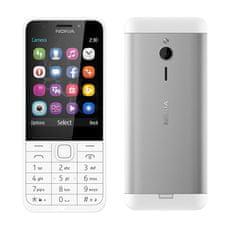 Nokia 230 DS, srebrno/biały