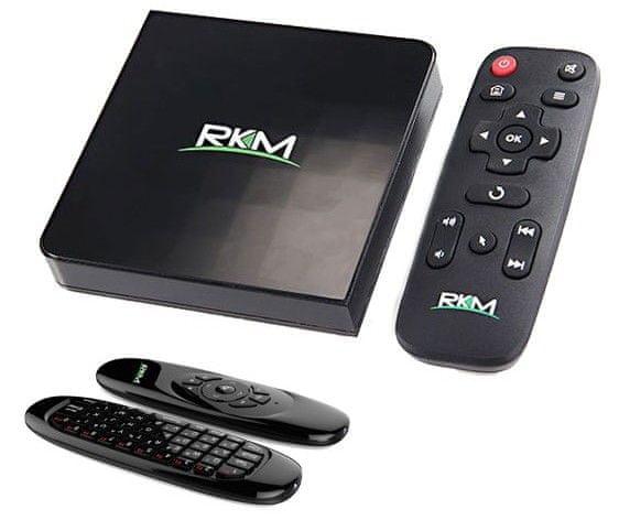 Rikomagic MK06 4K + MK706 air mouse