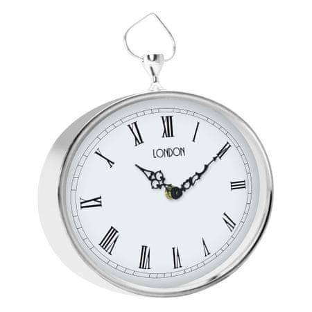 Time Life Nástěnné hodiny TL-170 stříbrná