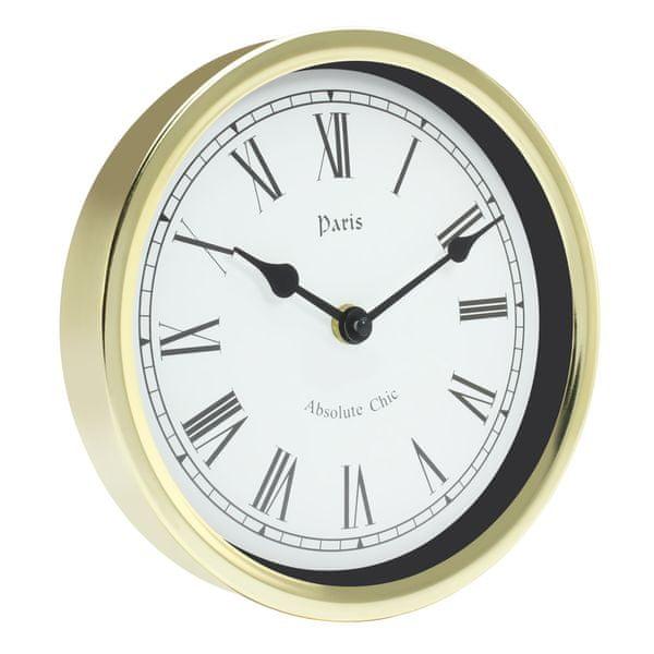 Time Life Nástěnné hodiny TL-171 zlatá