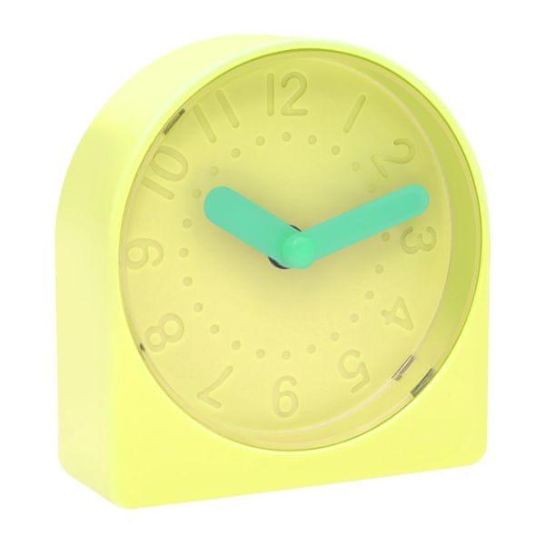 Time Life Stolní budík TL-234 žlutá